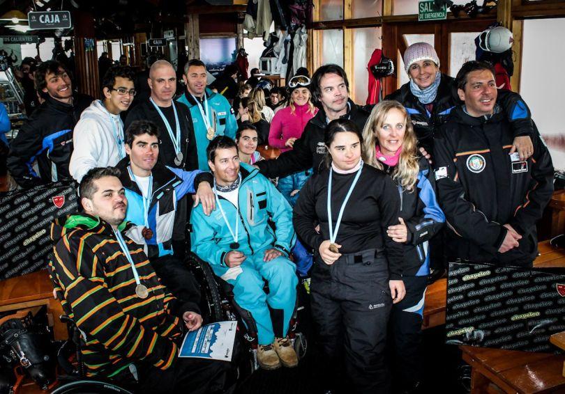 Chapelco 2012 Entrega de Premios Encuentro de Esqui Adaptado