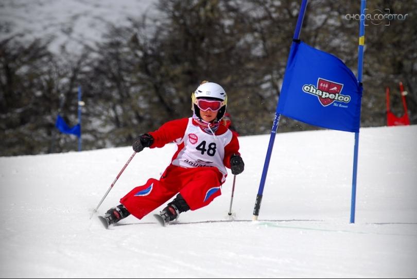 chapelco - encuentro nacional de esqui infantil - slalom gigante