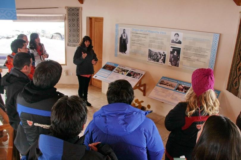 Chapelco - Margarita vera explica cosmovisión mapuche IMG_3139