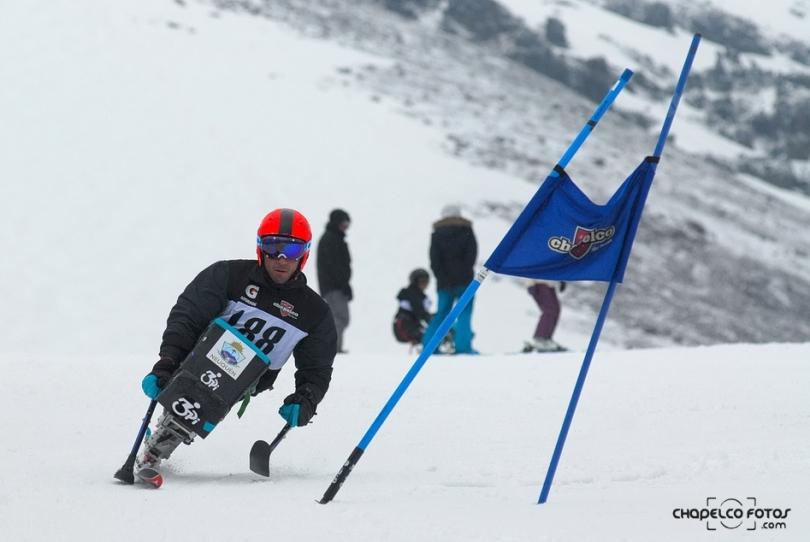 chapelco 2do encuentro de esqui adaptado Enrique plantey atleta paral+¡mpico  DAC_9788