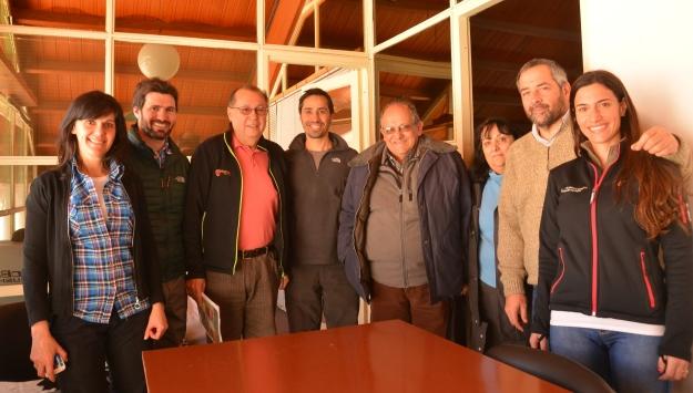 Entrega de donación al Hospital de San Martín de los Andes