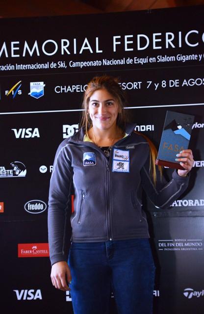 Salome Báncora nueva campeona argentina 2015