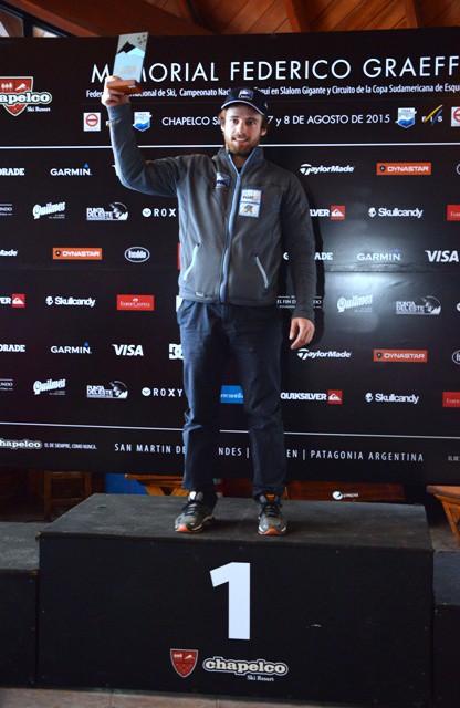 Sebastiano GAstaldi Nuevo campeon argentino 2015