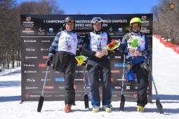 podio Slalom Gigante Categoria Parados CHapelco 2015 DAC_7148