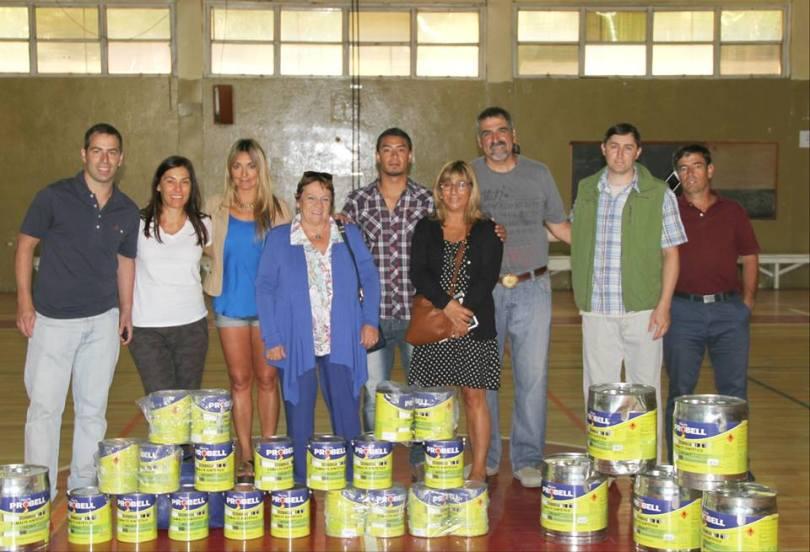 donación pintura