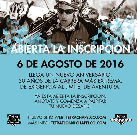 Banner Tetratlon CHapelco 2016