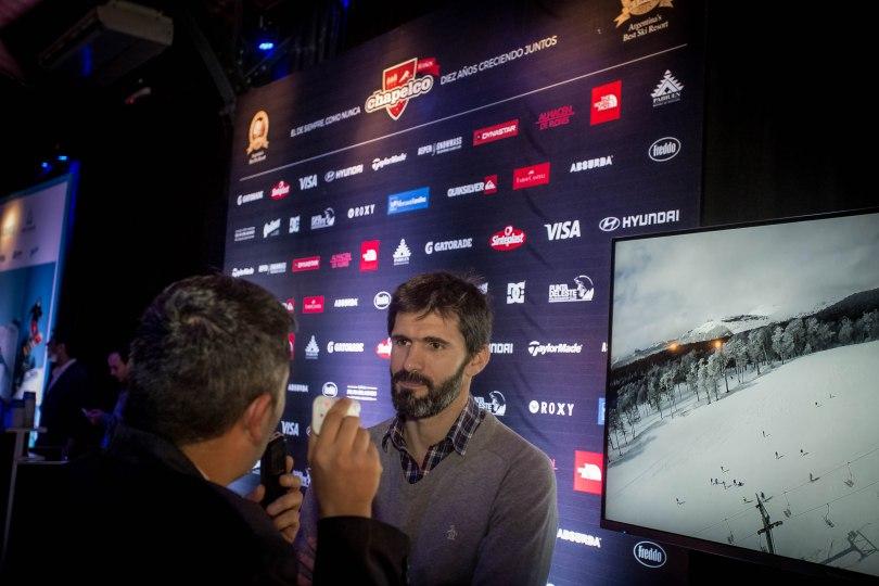 Federico Lopez Jallaguier (Gte MKTG)  anuncia a la prensa las novedades de la temporada 2016 Nieve 2016-36