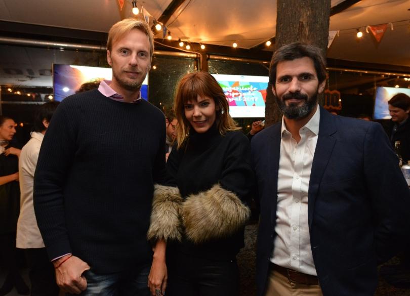 Federico Korn y Titina Vazquez junto a Federico Lopez Jallaguier Gte. Mktg CHapelcoDAC_9547
